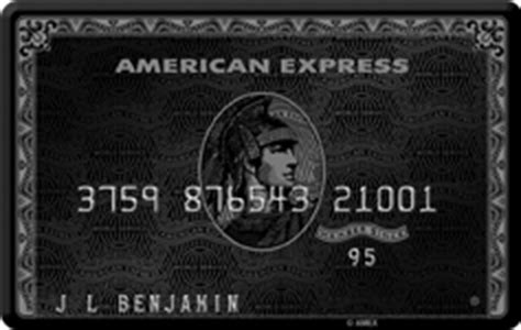 Typical American Express Mba Application by American Express Centurion Card Credit Card Insider