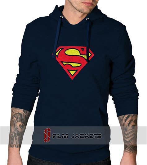 Hoodie Superman Blue blue superman hoodie