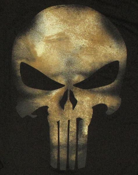 punisher  skull long sleeve  shirt