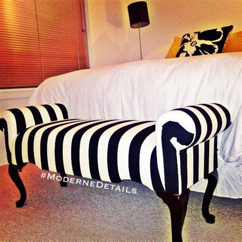 black and white striped bench black and white stripe bench ebay comforter target