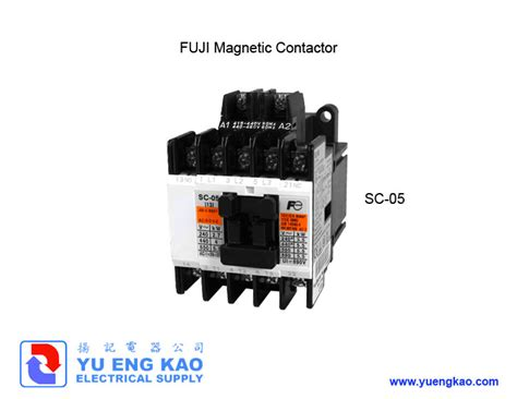 Kontaktor Fuji Sc 05 220vac sc 05 fuji electric products yu eng kao