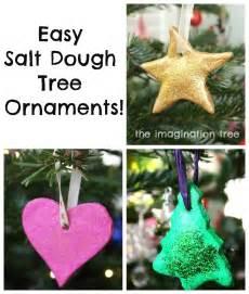 in en om die huis easy salt dough tree ornaments