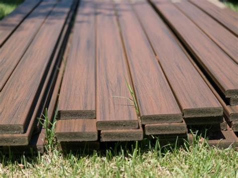 kinds  decking materials diy