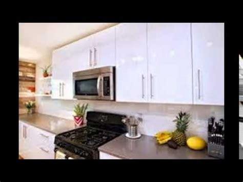 Oak Cabinet Kitchen high gloss white kitchen cabinets youtube