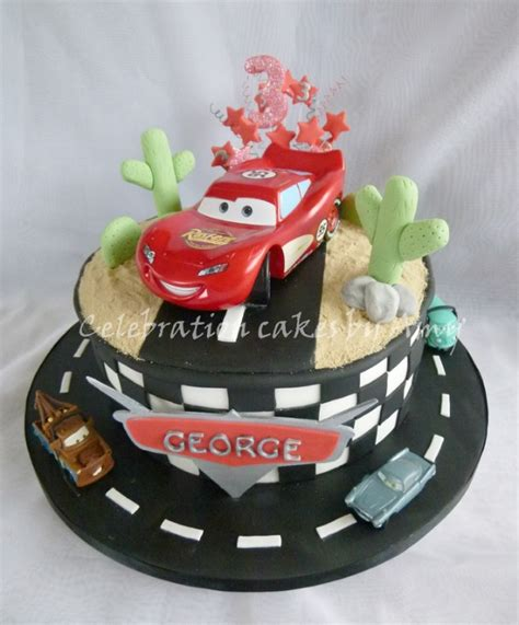 Cars Themed Birthday Cake Ideas by Disney Cars Cake