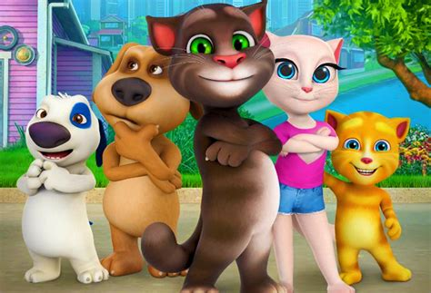 talking tom and friends characters talking tom and friends season 1 2015 what s new on