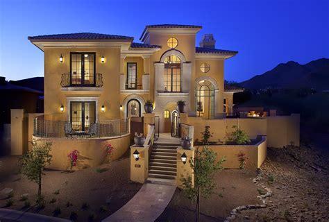 Luxury Home Golf Community Sterling At Silverleaf In Luxury Home Builders Scottsdale