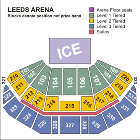 leeds arena floor plan image gallery leeds arena seating plan