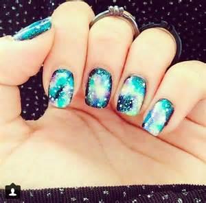 galaxy nail art nail ideas pinterest
