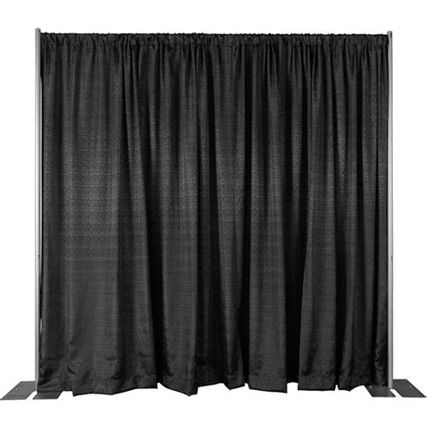 how to make pipe and drape 8ft high pipe and drape backdrop wall kit camelback displays
