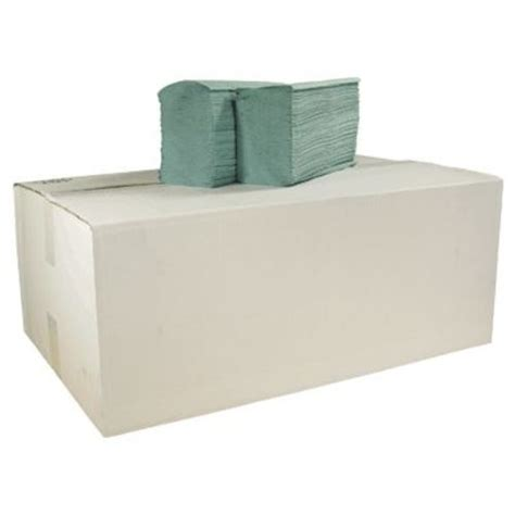 V Fold Paper Towels - v fold recycled paper towels green 1ply 5000 in paper