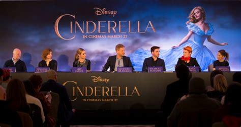 cinderella film north london cinderella london press conference 19th march 2015