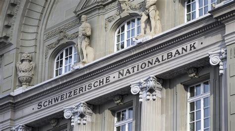 bank in der schweiz schweizer nationalbank macht massives minus ein verlust