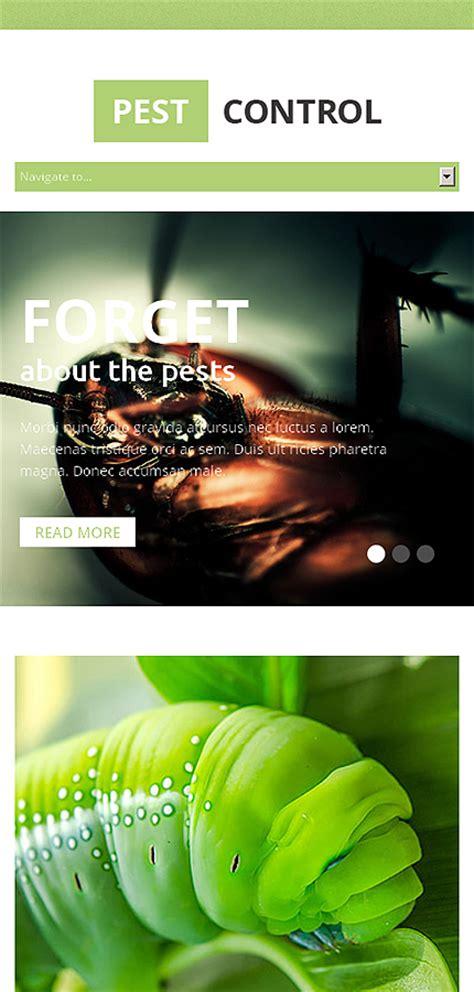 Pest Control Responsive Website Template 49210 Pest Website Templates Free