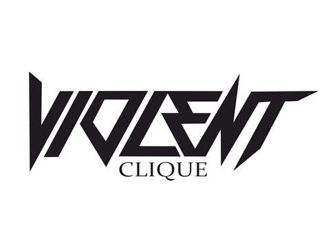 violent clique sticker vector  vector cdr