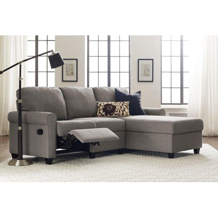 Copenhagen Sectional Sofa by Serta Copenhagen Reclining Sectional With Right Storage