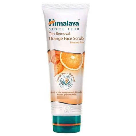 Scrub Himalaya himalaya herbals removal orange scrub
