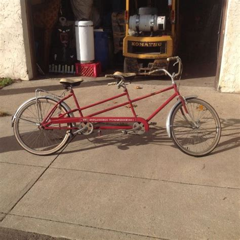 vintage columbia twosome two seater bike 171 obnoxious antiques
