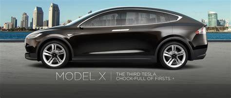 Suv Tesla X Tesla Model X Un Suv El 233 Ctrico