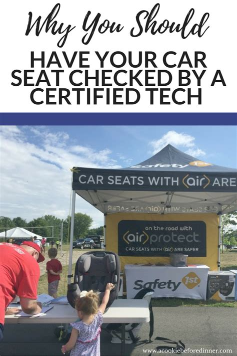 certified car seat tech reasons to get your car seat checked by a certified technician