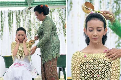 Wajah Widodari tradisi pernikahan yogya ritual sarat makna weddingku