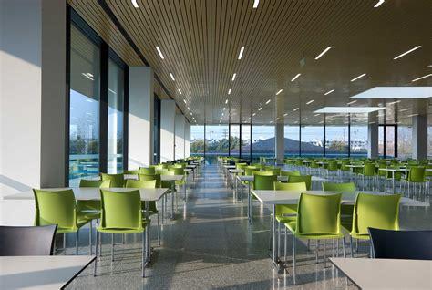 Office Interior Design gallery of roche canteen exh design 5