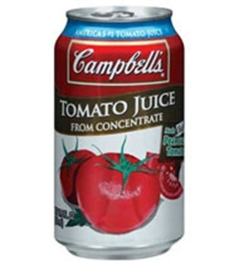 Canned Tomato Juice Shelf by Cbell S Tomato Juice Can 11 5 Oz