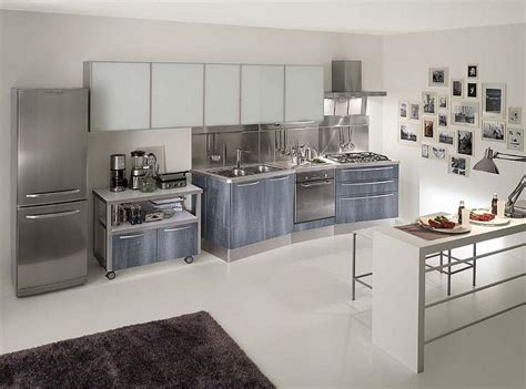 the kitchen gallery aluminium and stainless steel uncovering facts about metal kitchen cabinets my kitchen