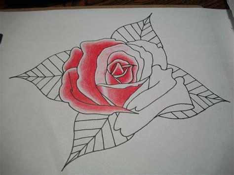 imagenes de rosas en 3d a lapiz image gallery lapiz dibujo flor rosa