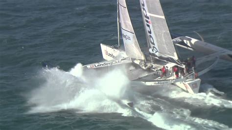 trimaran world speed record lending club 2 cowes to dinard world speed sailing