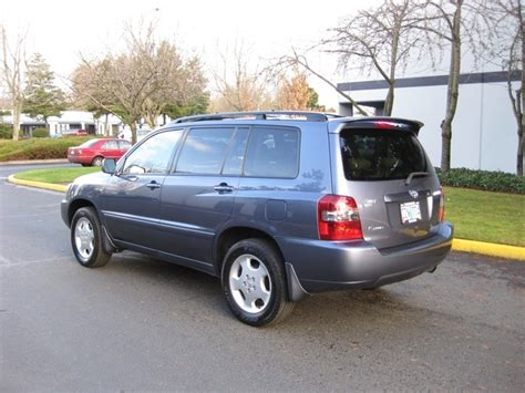 2004 Toyota Highlander Limited 2004 Toyota Highlander Limited Awd 3rd Seat Leather All