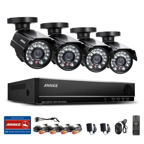sannce 8ch 960h hdmi dvr 800tvl outdoor cctv home