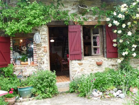 country backyard barbara lilian in france french windows