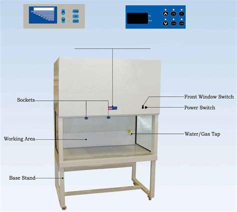 horizontal laminar flow bench p4 fumehoods biosafety cabinets laminar flow