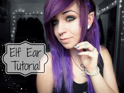 tutorial latex elf ears diy elven headpiece evzuu funnydog tv