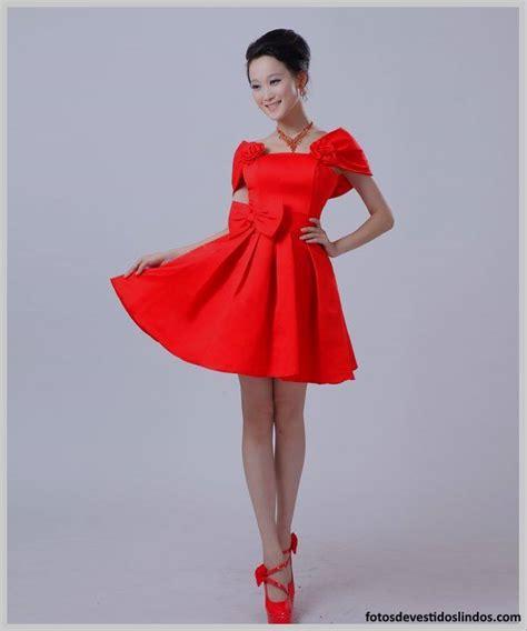 vestidos rojos de encaje cortos vestidos rojos cortos elegantes fotos de vestidos lindos