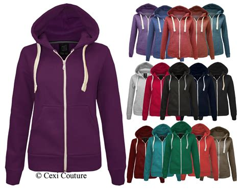 Jaket Sweater Hoodie Zipper Billiard 2 King Clothing 5 plain zip hoodie sweatshirt fleece hooded jacket womens plus sizes 16 20 ebay