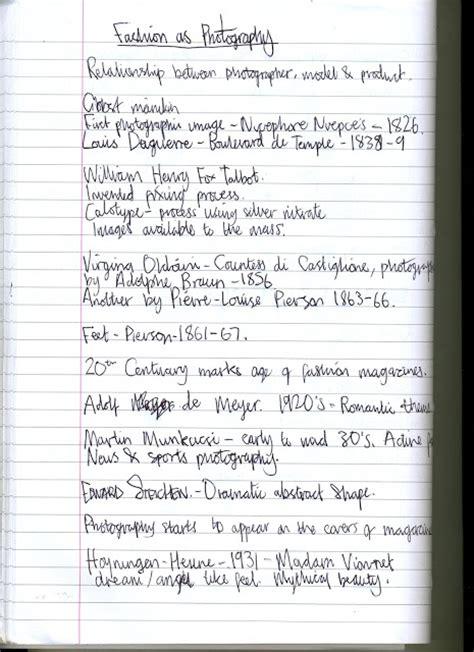 Fashion Design Notes | design context lecture notes fashion as photography