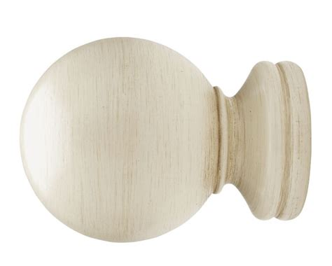 luxury drapery hardware select ball finial for 2 1 4 inch wood drapery rods at