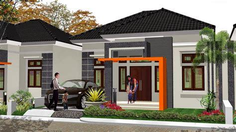 contoh desain rumah minimalis type  terbaru  desain cantik