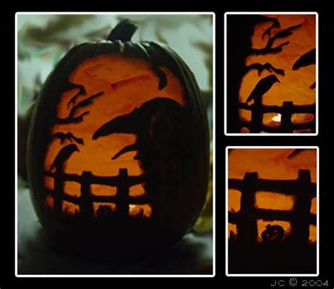 pumpkin carving by crow conglomerate on deviantart