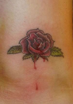 bleeding rose tattoos rosemary for remembrance quotes quotesgram