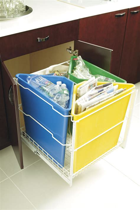 Recycling Cabinets Kitchen Base Recycling Center Cabinet Kitchen Craft