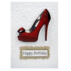 birthday card shoes made card ideas handmade embossed birthday card