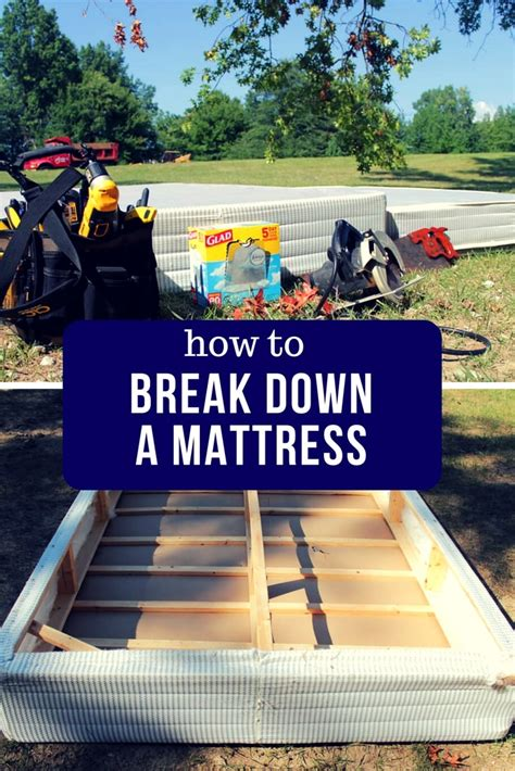 Breaking In A Mattress by How To A Mattress And Box Budget Dumpster