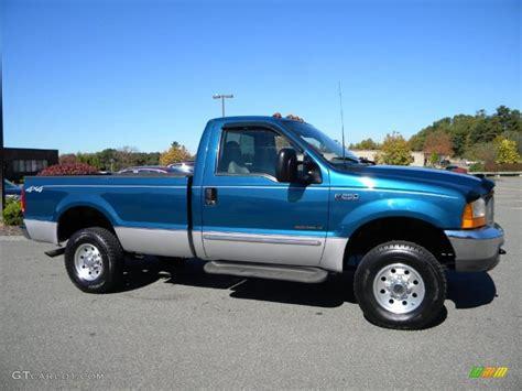 ford f250 2000 island blue metallic 2000 ford f250 duty xlt regular