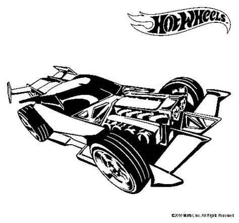 Dibujo De Hot Wheels 9 Para Pintar O Colorear   Garden