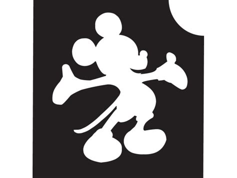 mickey mouse stencil   clip art