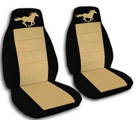 Seat Covers For Mustang Black And Ford Mustang Convertible Seat Covers Front