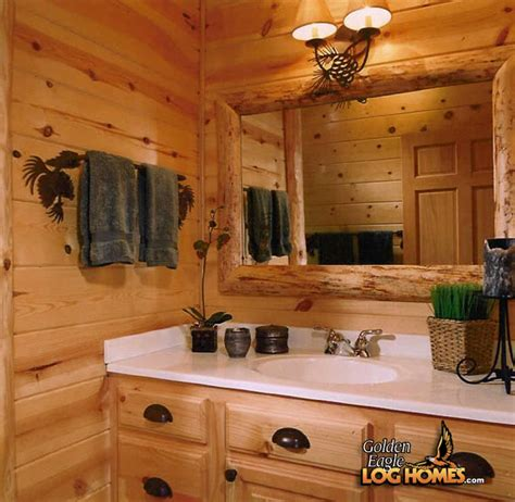 bathroom log golden eagle log homes log home cabin pictures photos